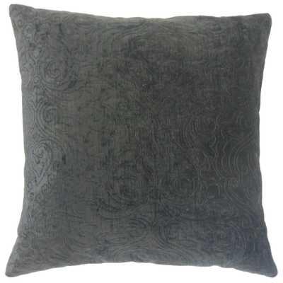 Hertzel Solid Pillow Ore - 18x18 With insert - Linen & Seam