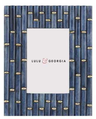 Bamboozle Picture Frame-Blue - Lulu and Georgia