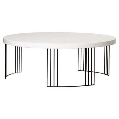 Ambrosios Coffee Table - White - AllModern