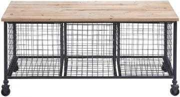 Hopper Storage Bench - Home Decorators