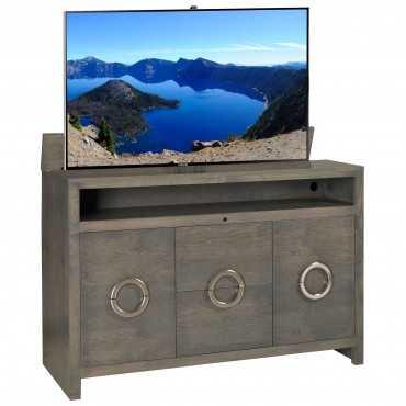 Enclave Grey - Tv Lift Cabinet