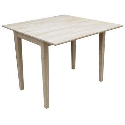 Dining Table with Dual Drop Leaf - AllModern