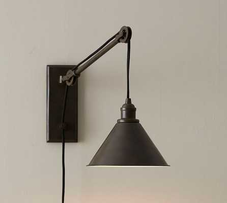 Warren Pulley Sconce, Set of 2 - Pottery Barn