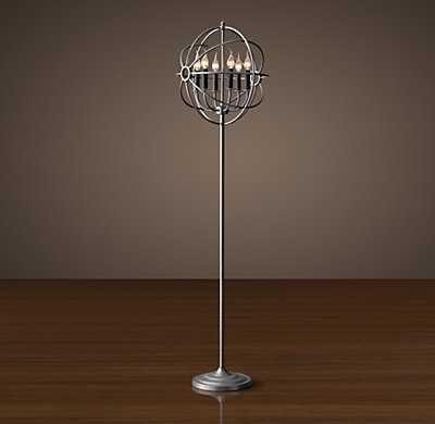 Foucault's Orb Floor Lamp - RH