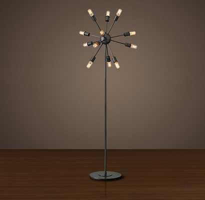 SPUTNIK FILAMENT FLOOR LAMP - Aged Steel - RH