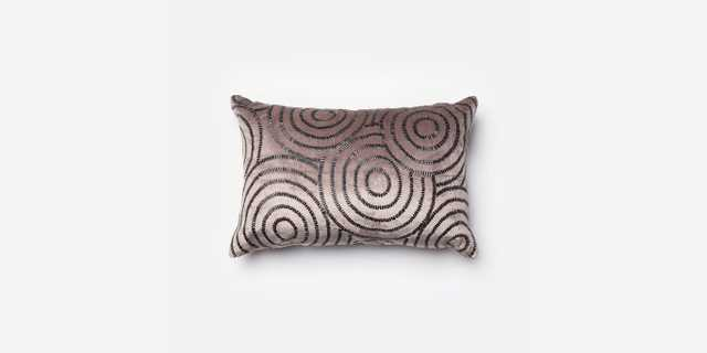 P0110 CHARCOAL / BLACK Pillow - With Insert - Loma Threads