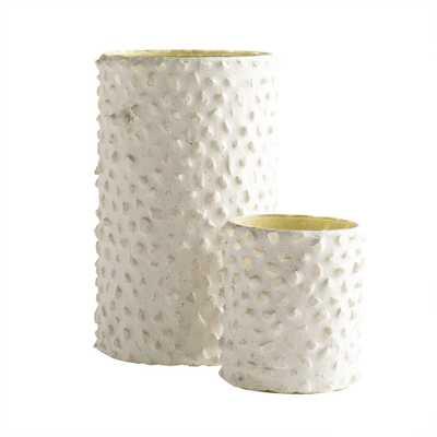 Glass Mosaic Candleholders - Set of 2 - Wisteria