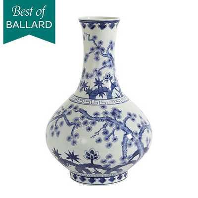 Blue & White Chinoiserie Collection - Large Gourd - Ballard Designs