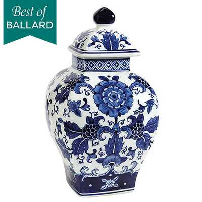 Blue & White Chinoiserie Collection - Square Lidded - Ballard Designs