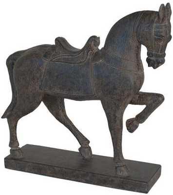 Trotting Horse Figurine - Home Decorators