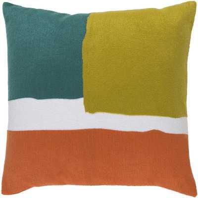 """Harvey HV-004 - 18"""" x 18""""  Pillow Shell with Down Insert - Neva Home"""