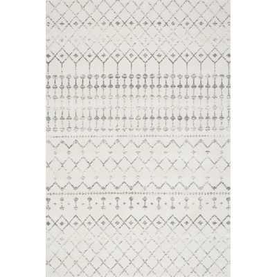 Blythe Gray Area Rug - 8' x 10' - Wayfair