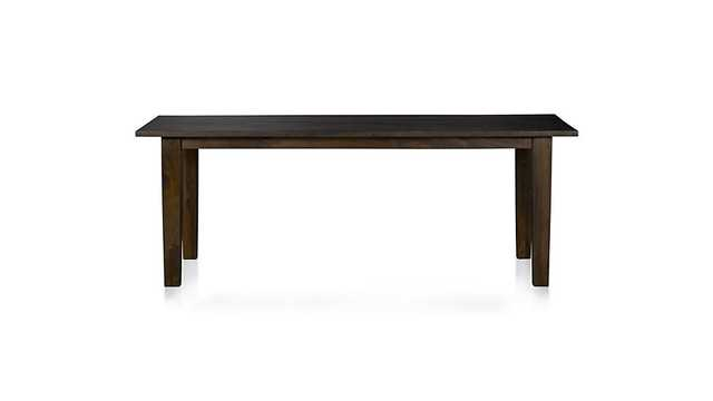 Basque Java Dining Table - Crate and Barrel