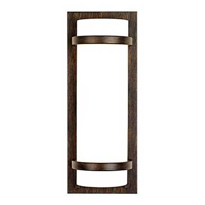 Minka Lavery Contemporary Iron Oxide Wall Sconce - Lamps Plus