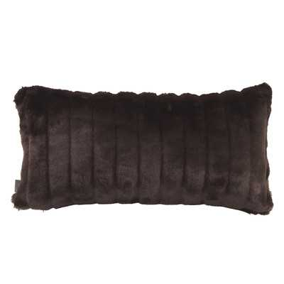 "Kidney Lumbar Pillow - 11"" H x 22"" W - Mink Black - Wayfair"