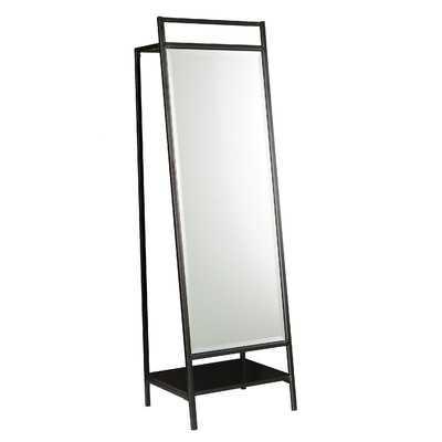 Mirror and Hidden Coat Rack - Wayfair