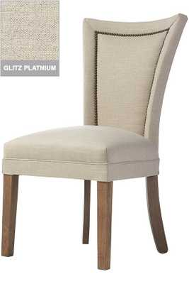 CUSTOM DINING CHAIR WITH NAILHEADS - Home Decorators