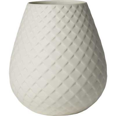 Mamba white vase - CB2