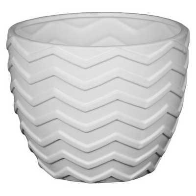Privilege Small Ceramic Sage Bowl - White - Target