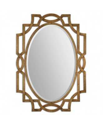Gold Oval Accent Mirror - Wayfair