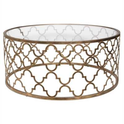 Quatrefoil, Coffee Table - Hudsonhill Foundry