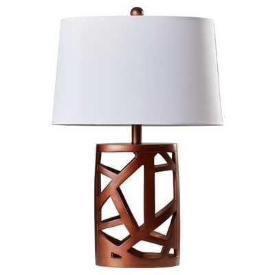 "Kaulton 25.5"" H Table Lamp with Empire Shade by Trent Austin Design - AllModern"