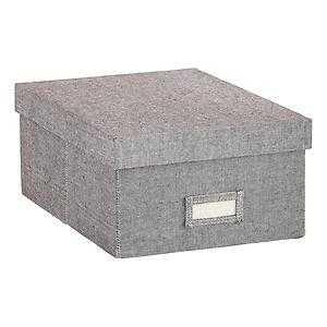 Shirt Box Grey - containerstore.com