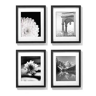 Gallery Frames in Black (Set of 4) - Bed Bath & Beyond