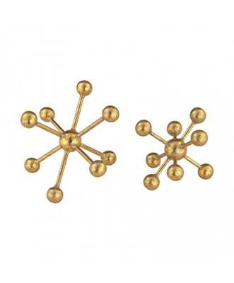 GOLDEN MOLECULES - SET OF 2 - Lulu and Georgia