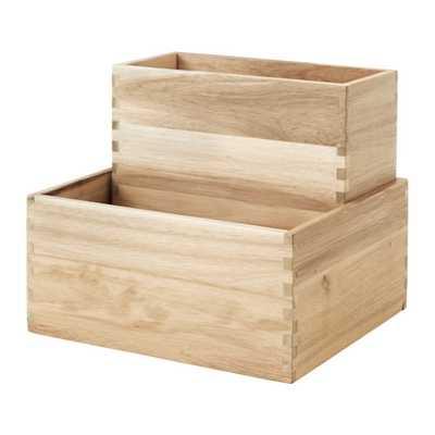 SKOGSTA Box, set of 2 - Ikea