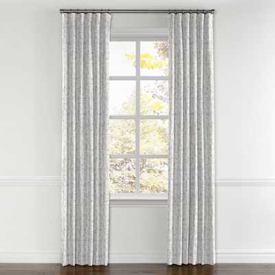 "Convertible Drapery-Silver-Standard Cotton Lining -96"" - Loom Decor"