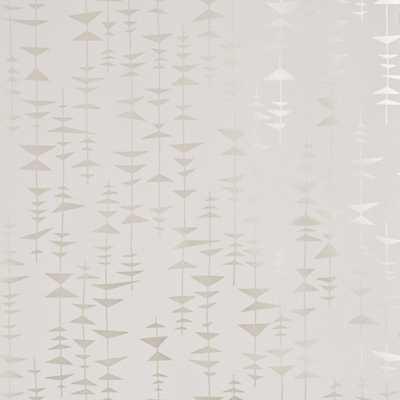 Ditto wallpaper - Champagne - Walnut Wallpaper