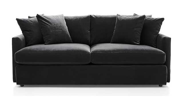 Lounge II Sofa - Ebony - Crate and Barrel
