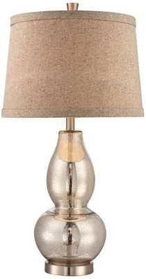 Double Gourd Mercury Glass Table Lamp - Lamps Plus
