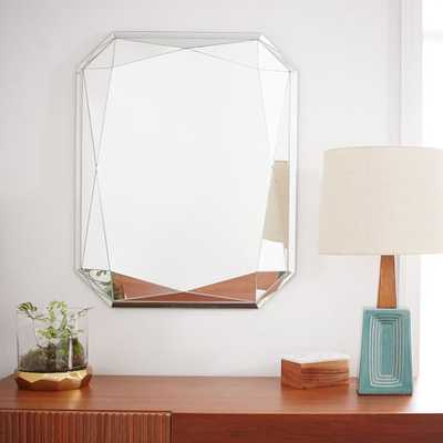 Faceted Mirror - Emerald Cut - West Elm