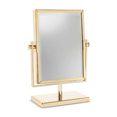 West Emory™ Two Sided Gold Vanity Mirror - Target