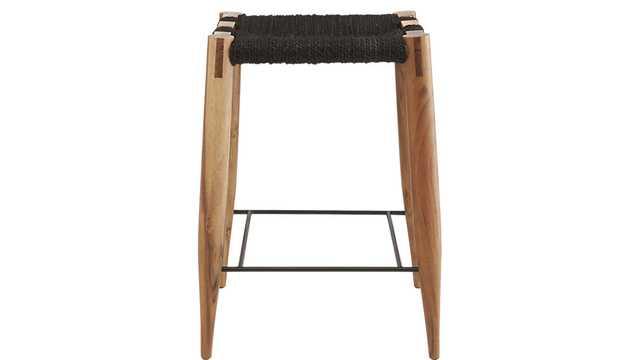"wrap 30"" bar stool - CB2"