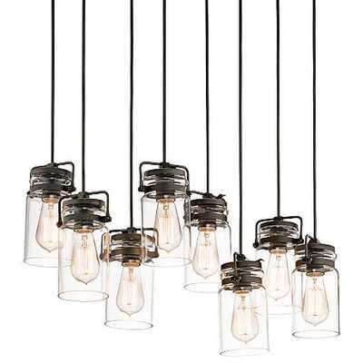 Kichler Brinley 8-Light Pendant - Lamps Plus