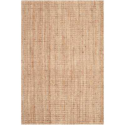 Safavieh Casual Natural Fiber Hand-Woven Natural Accents Chunky Thick Jute Rug (9' x 12') - Overstock