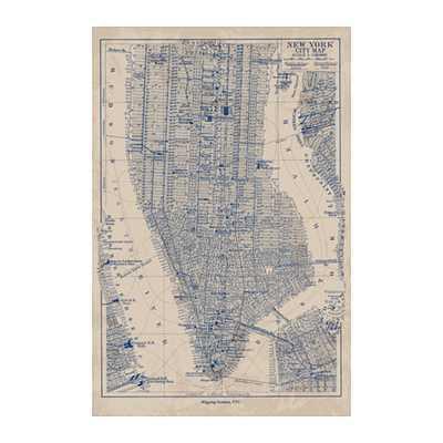 """BILD Poster, Manhattan map - 24x35 ¾"""" - Unframed - Ikea"""