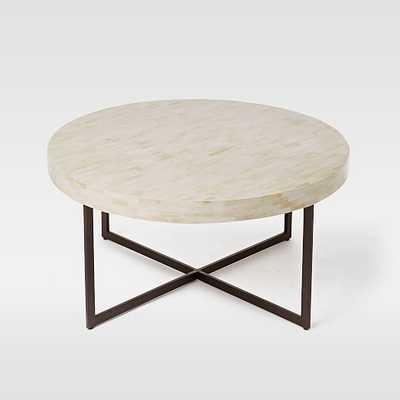 Low Bone Coffee Table - West Elm