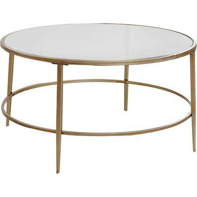 Nash Round Coffee Table - Birch Lane