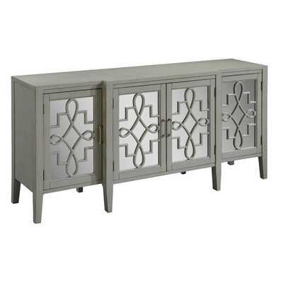 Manry Mirrored Sideboard - Gray - Wayfair