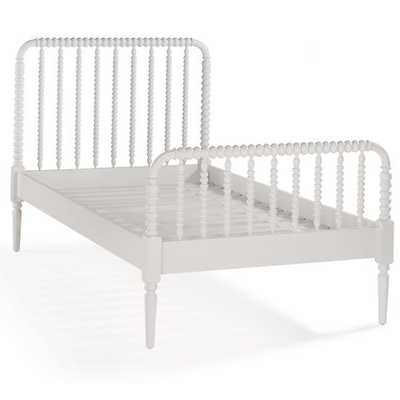 Twin Jenny Lind White Bed - Land of Nod