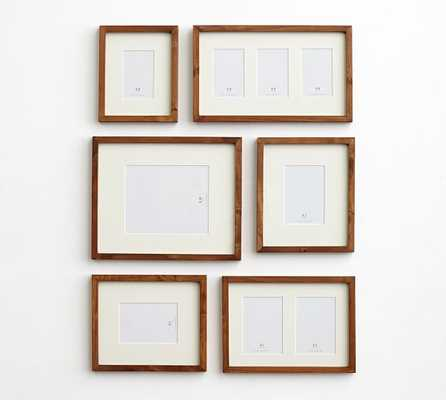 GALLERY IN A BOX - WOOD GALLERY FRAMES - SET OF 6 - Pottery Barn