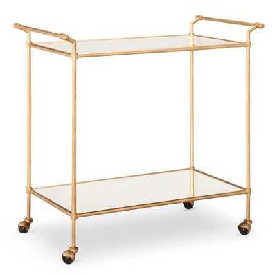 Bar Cart Metal/Gold - Target