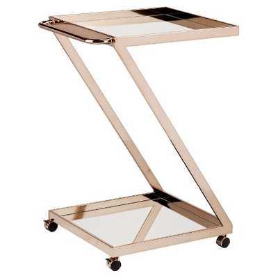 Southern Enterprises Cart Metal/Bright Gold - Target