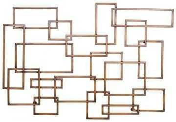 RECTANGLES METAL WALL ART - Home Decorators