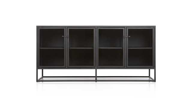 Casement Black Large Sideboard - Crate and Barrel