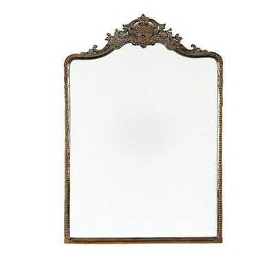 "Beaudry Mirror - Antique Brass - 45"" x 32"" - Ballard Designs"